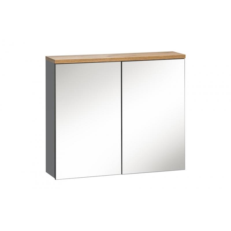 Pakabinamas veidrodis-spintelė 840 GOTLAND GREY